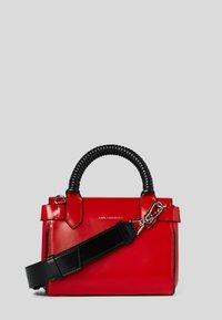 KARL LAGERFELD - TELEPHONE  - Handbag - red, white, black - 1