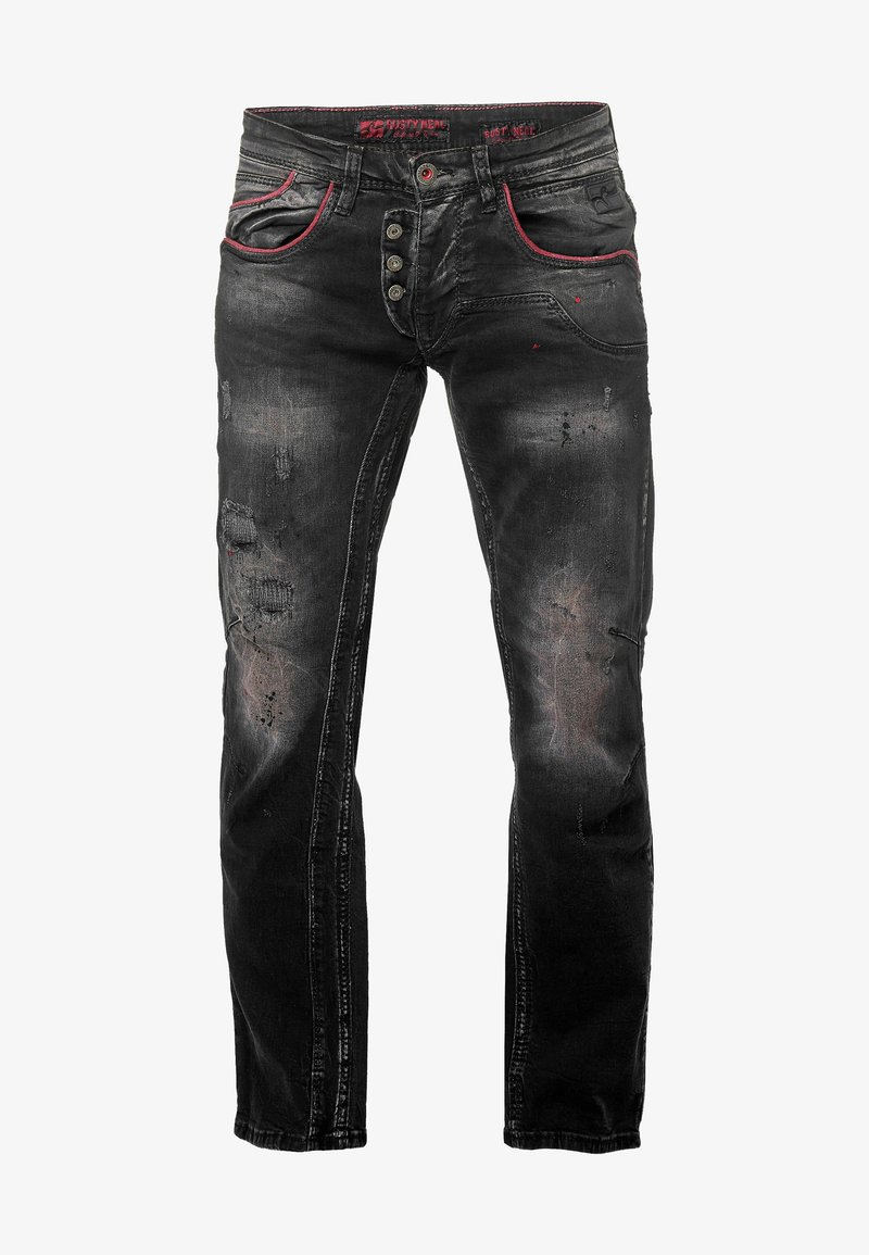 Rusty Neal - RUSTY NEAL - Slim fit jeans - anthrazit