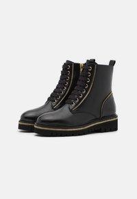 Steffen Schraut - ZIP STREET - Lace-up ankle boots - black - 2