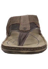 Josef Seibel - JOSEF SEIBEL - T-bar sandals - blau-kombi 501 - 5
