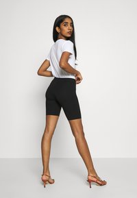 Gina Tricot - BASIC BIKER 2PACK - Shorts - black - 3