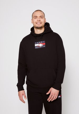 ONE PLANET HOODY UNISEX - Hoodie - black