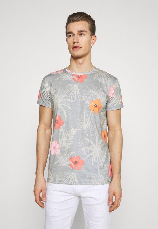 CADIZ BRILIANT - Camiseta estampada - light grey