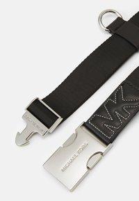 MICHAEL Michael Kors - WEBBING BELT WITH QUILTING - Belt - black - 1