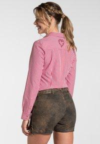Spieth & Wensky - MIA - Leather trousers - braun - 5