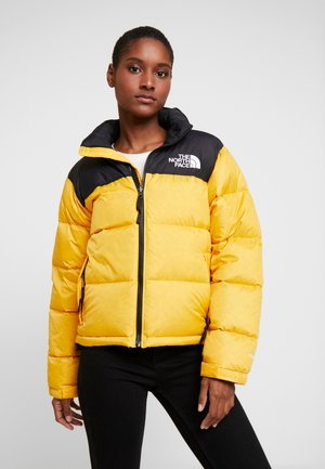 W 1996 RETRO NUPTSE JACKET - Gewatteerde jas - yellow