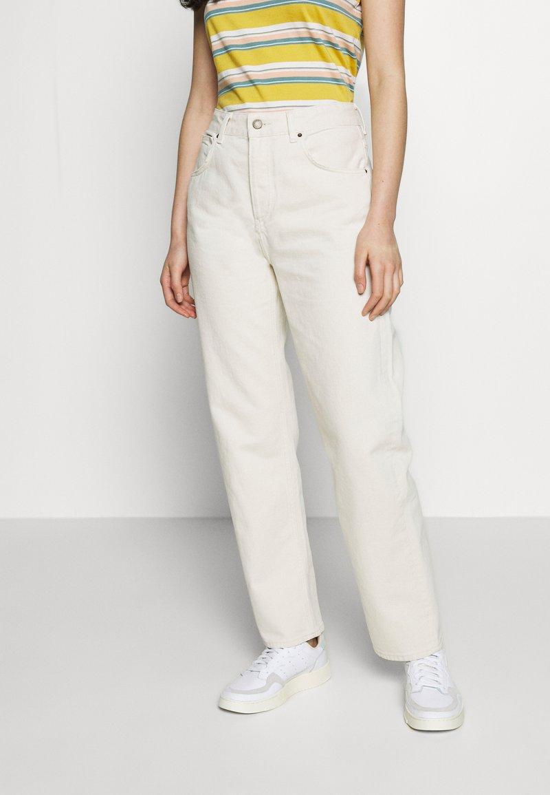 American Vintage - SNOPDOG - Straight leg jeans - ecru