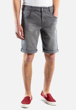 RAFTER - Denim shorts - grey denim