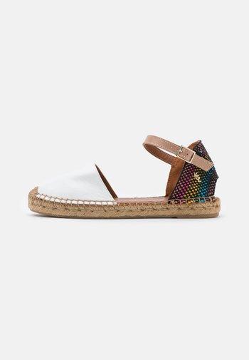MANTY RAINBOW - Sandals - white