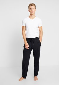 Schiesser - BASIC - Pyjama bottoms - black - 1