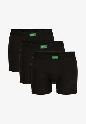 3 PACK - Bokserit - black
