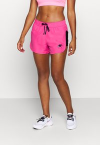Nike Performance - AIR SHORT - Pantalón corto de deporte - pinksicle/black/black - 0