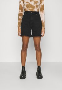 Afends - SHELBY - Denim shorts - washed black - 0