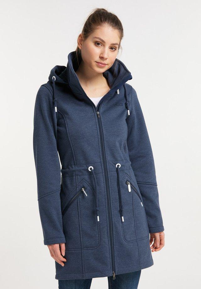 Abrigo corto - marine melange
