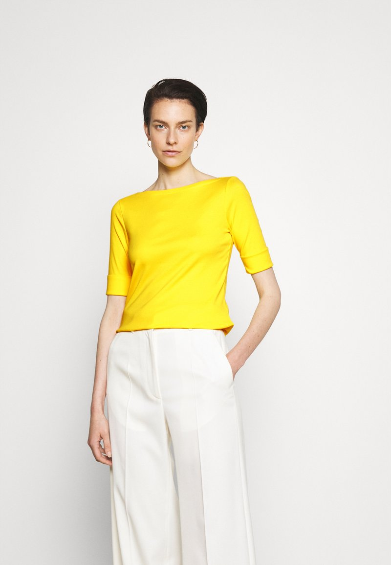 Lauren Ralph Lauren - JUDY - Basic T-shirt - lemon rind