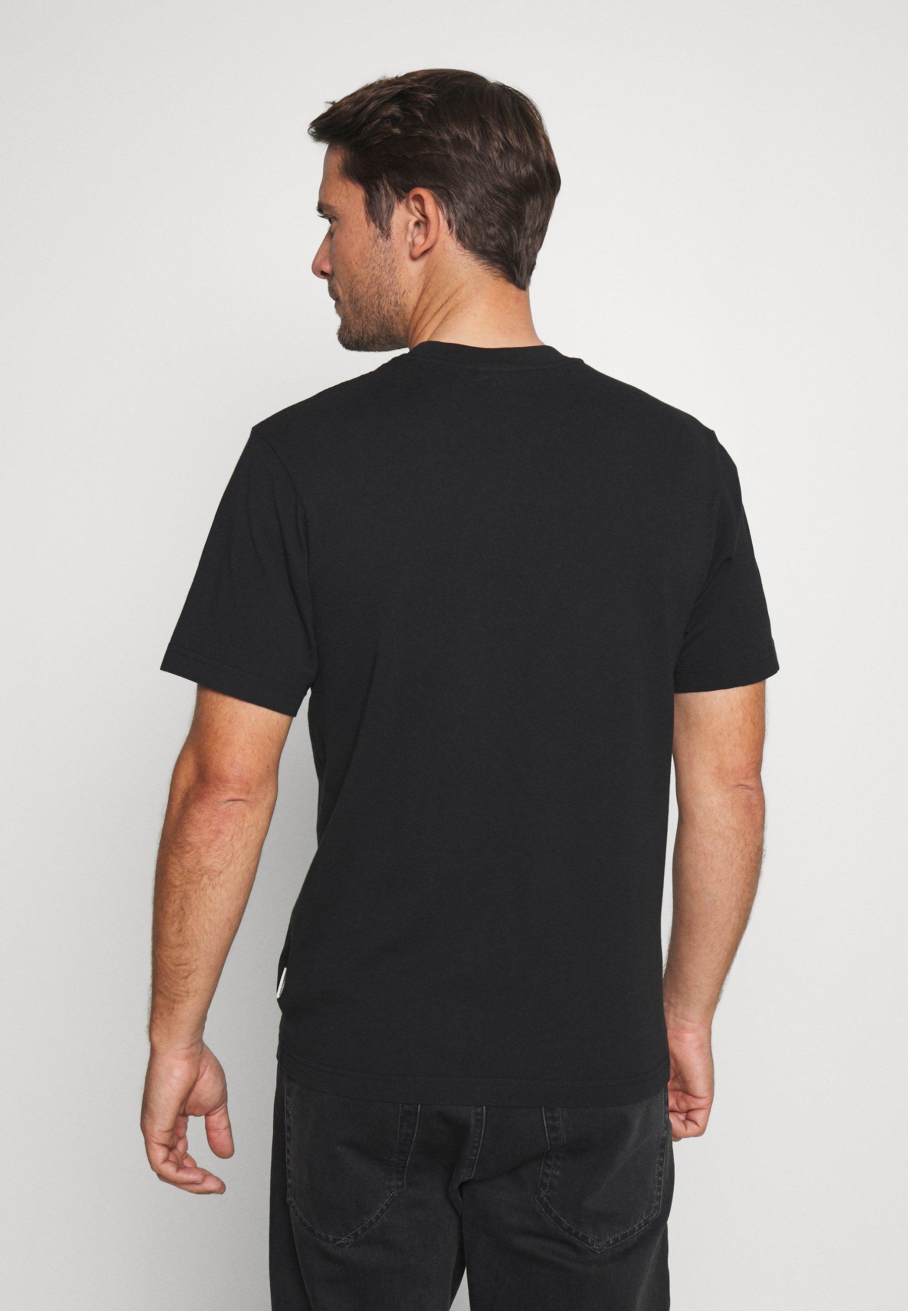 Franklin & Marshall Print T-shirt - black udmOP