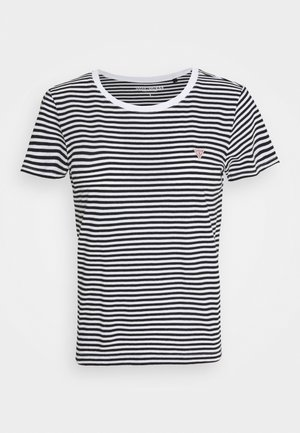 LOGO BABY TEE - Print T-shirt - black/white