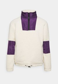 Another Influence - CARSON BORG FUNNEL NECK JACKET - Chaqueta fina - ecru - 0