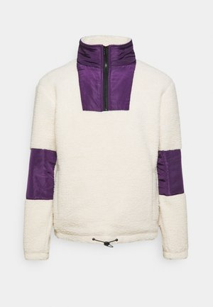 CARSON BORG FUNNEL NECK JACKET - Summer jacket - ecru