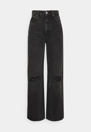 IDUN WIDE - Relaxed fit jeans - offblack