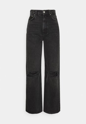 IDUN WIDE - Jeans relaxed fit - offblack