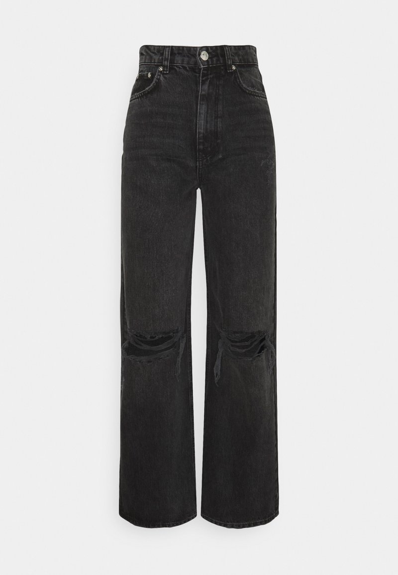 Gina Tricot - IDUN WIDE - Relaxed fit jeans - offblack