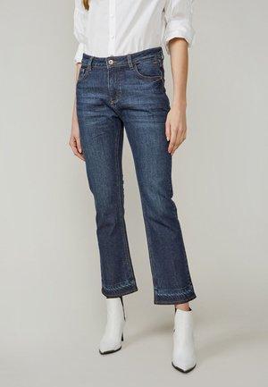 JEANS JOG DELUXE DENIM - Bootcut jeans - night blue denim