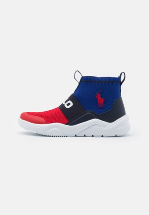 CHANING BOOTIE II - Sneakersy wysokie - red/navy