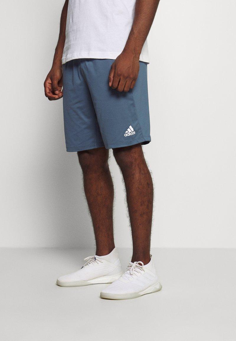 adidas Performance - Sports shorts - blue