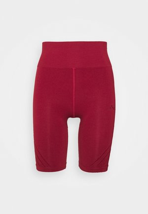 ONPJAVO CIRCULAR SHORTS - Tights - sun dried tomato