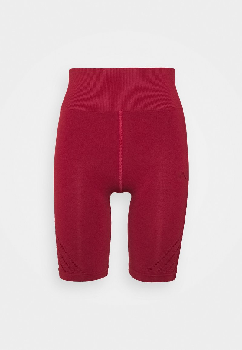 ONLY Play - ONPJAVO CIRCULAR SHORTS - Punčochy - sun dried tomato