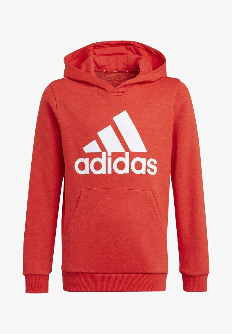 adidas Performance - ADIDAS ESSENTIALS HOODIE - Jersey con capucha - red