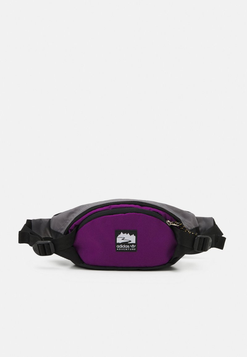 adidas Originals - WAISTBAG S UNISEX - Bum bag - black/glory purple/white