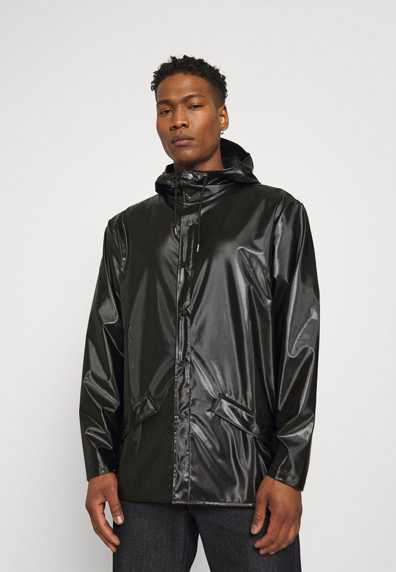 Rains - JACKET UNISEX - Impermeable - shiny black