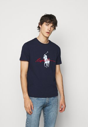 T-shirt med print - cruise navy