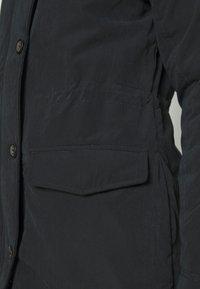 Abercrombie & Fitch - SHERPA - Parka - black - 6