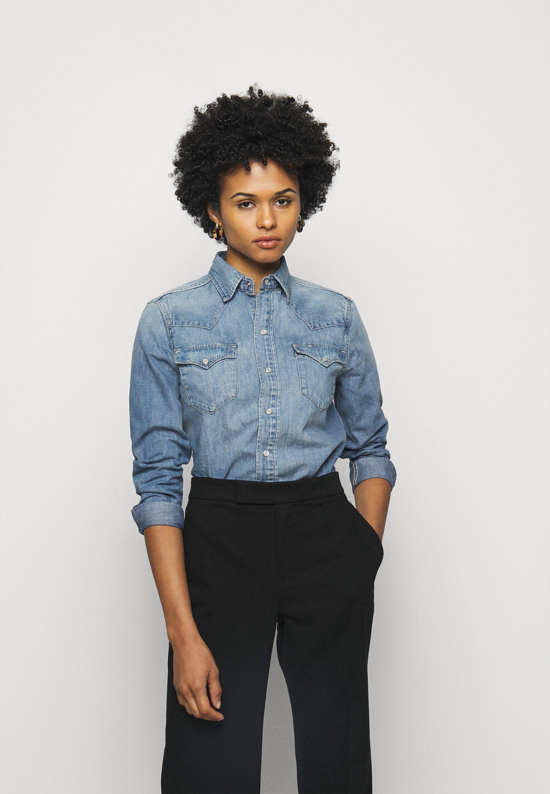 Women WESTERN LONG SLEEVE - Button-down blouse