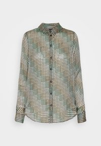 Vero Moda - VMBERTA LS  - Button-down blouse - fir green/berta - 4
