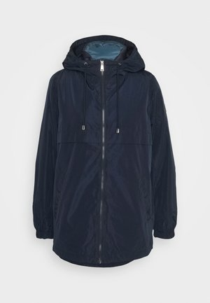 MEMORY VEST 2 IN 1 ANORAK - Short coat - navy