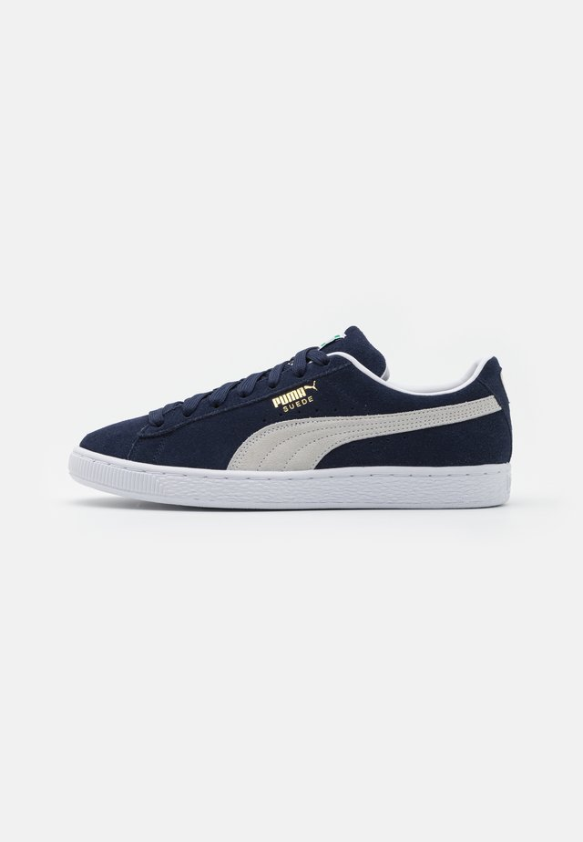 SUEDE CLASSIC - Baskets basses - peacoat/white