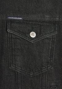 Calvin Klein Jeans - DAD JACKET - Denim jacket - denim black - 2