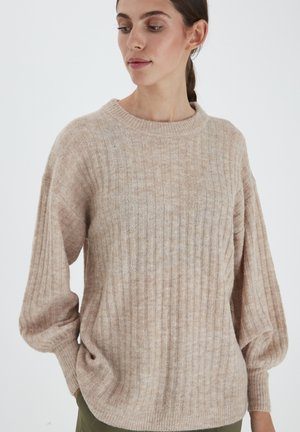IHAMARA LS  - Strickpullover - natural