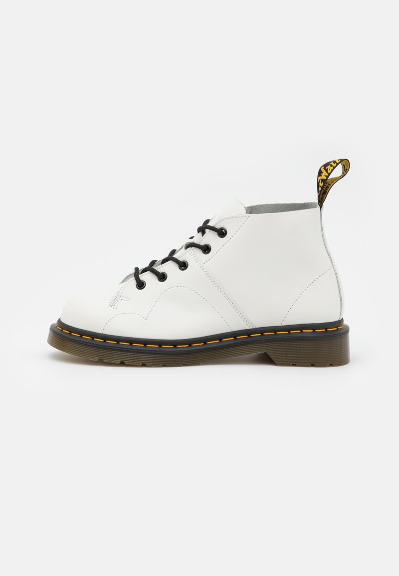 Dr. Martens - CHURCH MONKEY BOOT UNISEX - Lace-up ankle boots - white