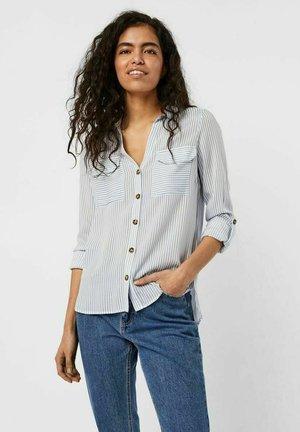 VMBUMPY - Button-down blouse - snow white