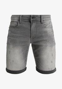 G-Star - 3301 Slim - Jeansshorts - slander grey superstretch - 6