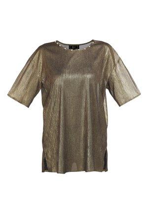 Tunic - schwarz gold