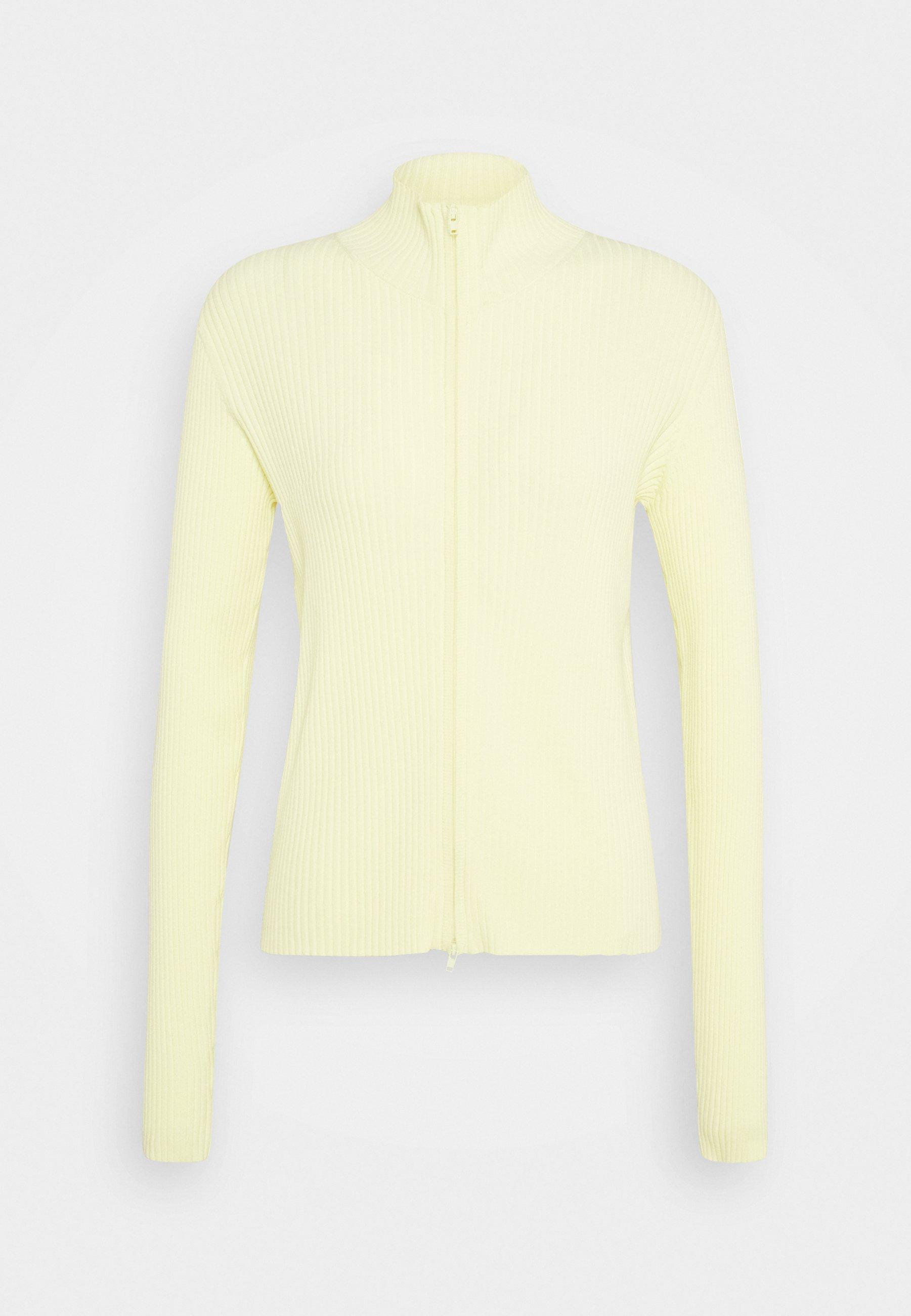 Weekday RYAN - Strikjakke /Cardigans - light yellow -  9us3b