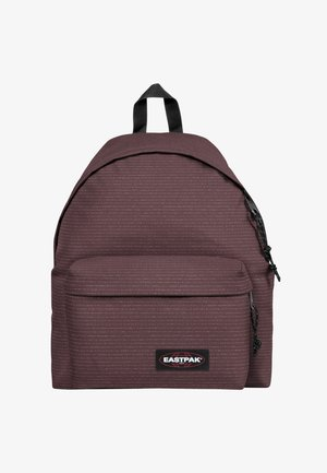 PRINTKNIT/AUTHENTIC - Rucksack - bordeaux/white