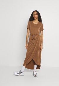 Object - OBJANNIE NADIA DRESS - Maxi dress - partridge - 0