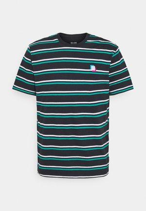 ONSVILLEM LIFE TEE - Print T-shirt - dark navy